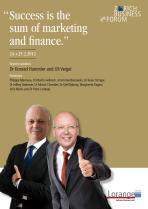 Programm Zurich Business Forum mit Konrad Hummler und Uli Veigel
