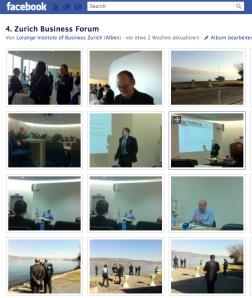Zurich Business Forum mit Konrad Hummler und Peter Lorange