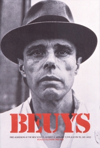 Joseph Beuys Portrait, an example used by Jörg Reckhenrich to demonstrate the parallels between art and business