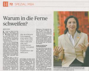Artikel von Christiane Holländer in der deuteschen Handleszeitung