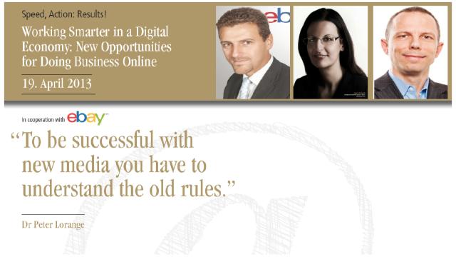 Digiatl Business. Forum. April. 2013.